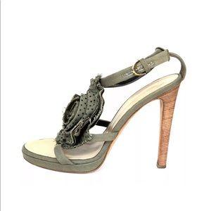 Giuseppe Zanotti Ankle Strap Heel Sandals Sz 40